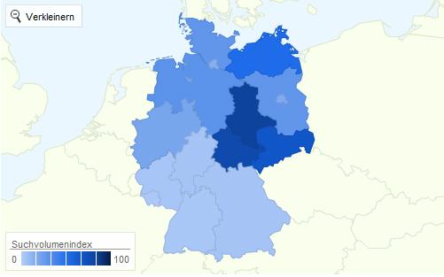 meinvz statistik 2011 interessenverteilung deutschland
